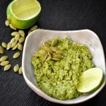 arugula lime pesto