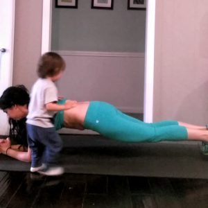 plank to ease lower back pain