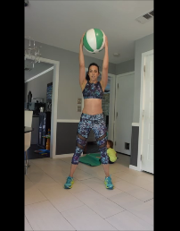 medicine ball metabolic circuit